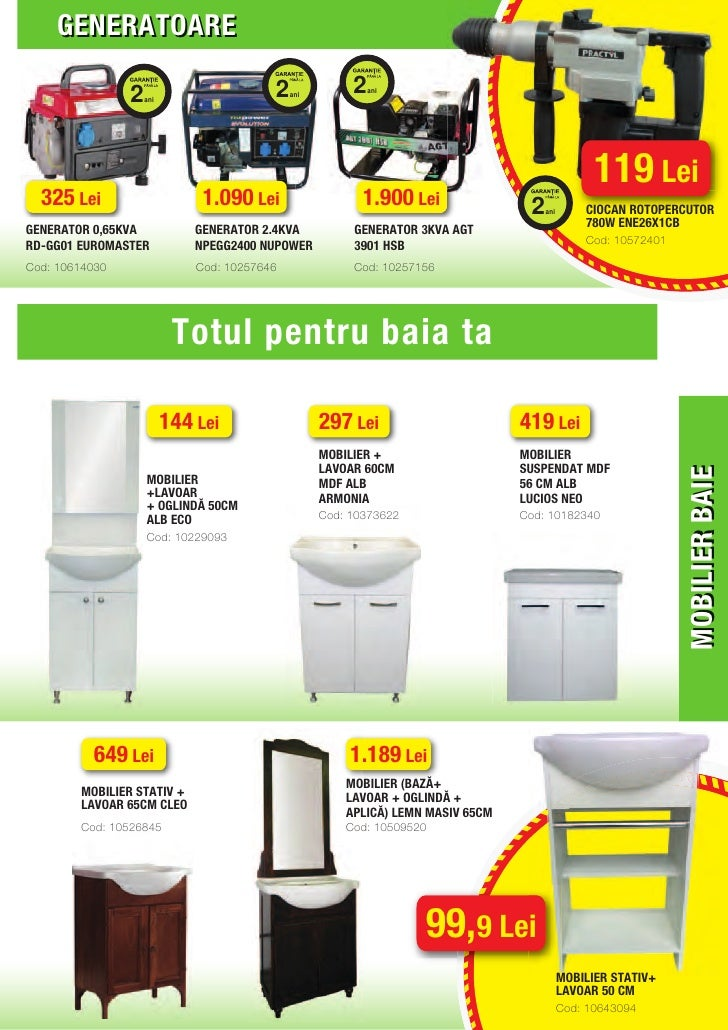 Catalog leroy merlin iulie for Leroy merlin generatore