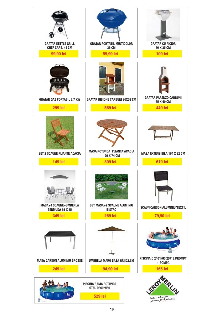 catalog leroy merlin iunie. Black Bedroom Furniture Sets. Home Design Ideas