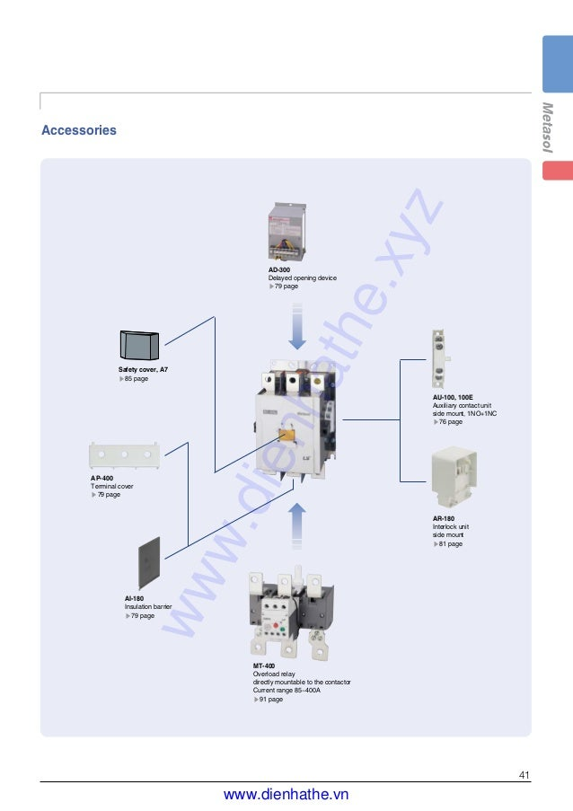 Overload relays definite on contactor overload relay wiring diagram catalog ls contactors and overload relays metasol mc dienhathe vn rh slideshare net swarovskicordoba Gallery