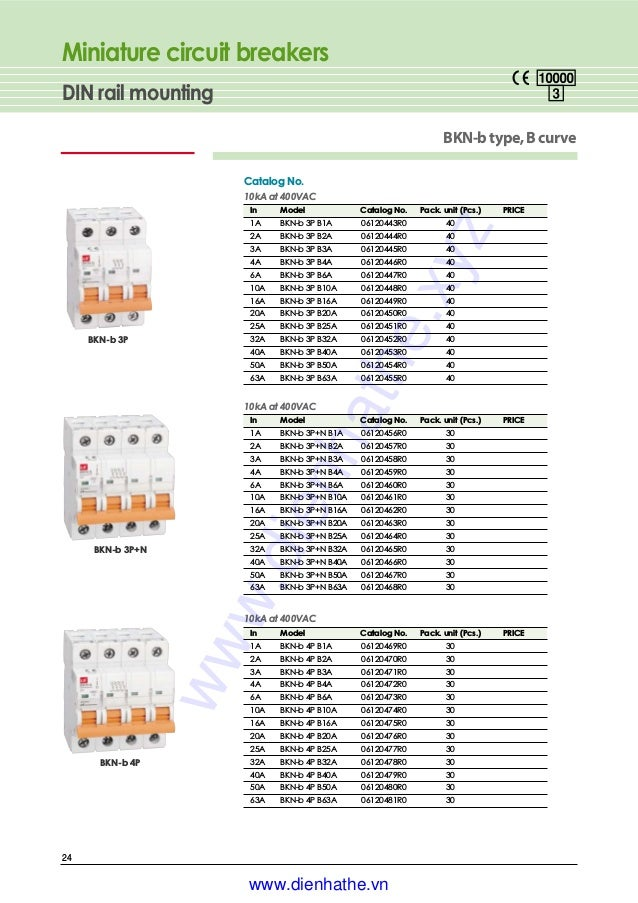 BKN-b-3P-C1A LS MINIATURE DIN RAIL MOUNT 3 Pole UL 1077 CIRCUIT BREAKER C Curve 1A 120//240V LS Industrial Systems