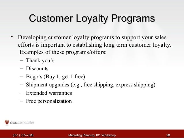 Not a Basic Loyalty Program, an Advanced Loyalty Platform!