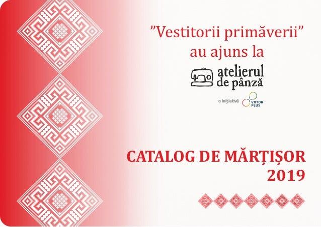 Atelierul De Panza Catalog De Martisor 2019