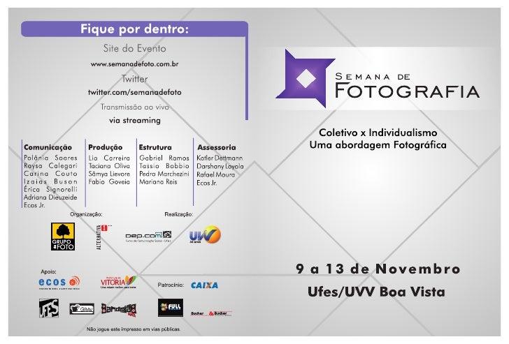Catálogo da Semana de Foto