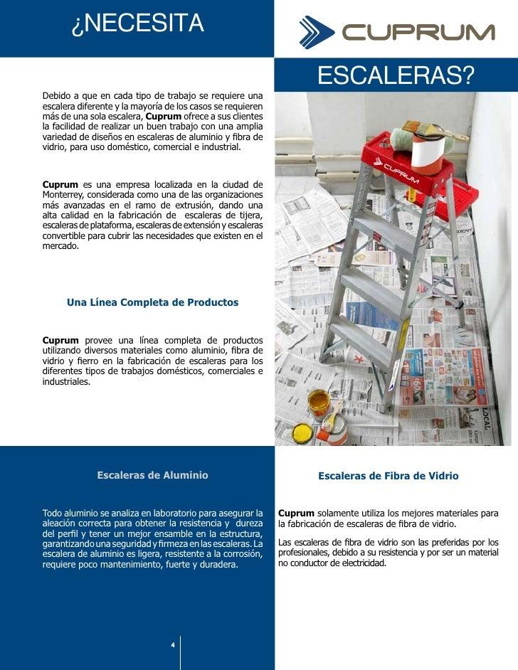 Catalogo escaleras cuprum for Como se ase una escalera