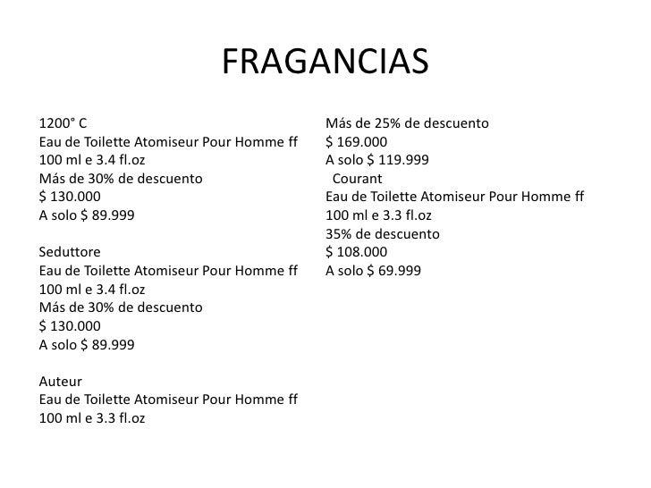 FRAGANCIAS1200° C                                   Más de 25% de descuentoEau de Toilette Atomiseur Pour Homme ff   $ 169...