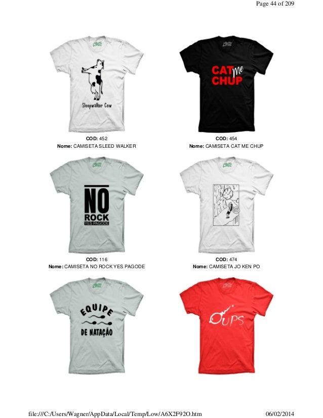 236ff98651d5d Catalogo Comics Camisetas - www.comicscamisetas.com.br