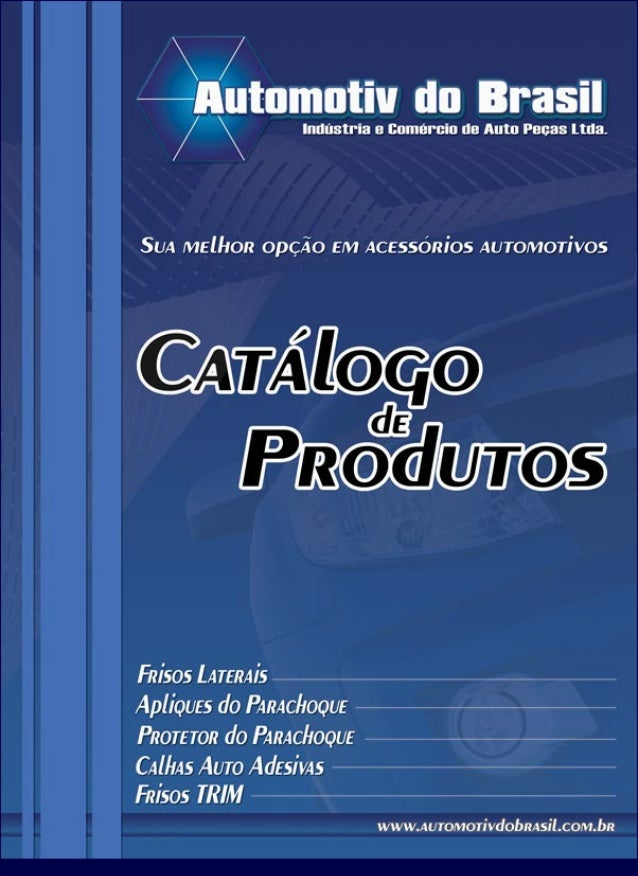 CATALOGO AUTOMOTIV BRASIL