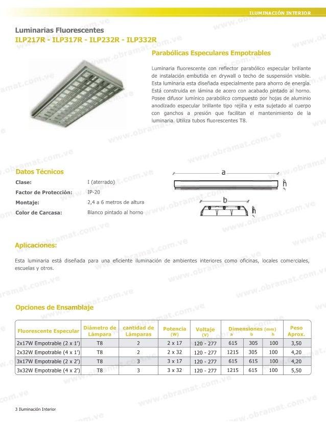 Catalogo - Catalogo de luminarias para interiores ...