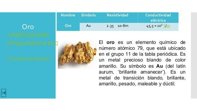 Catalogo de los elementos qumicos usados en la electrnica 6 oro aplicaciones importancia urtaz Image collections