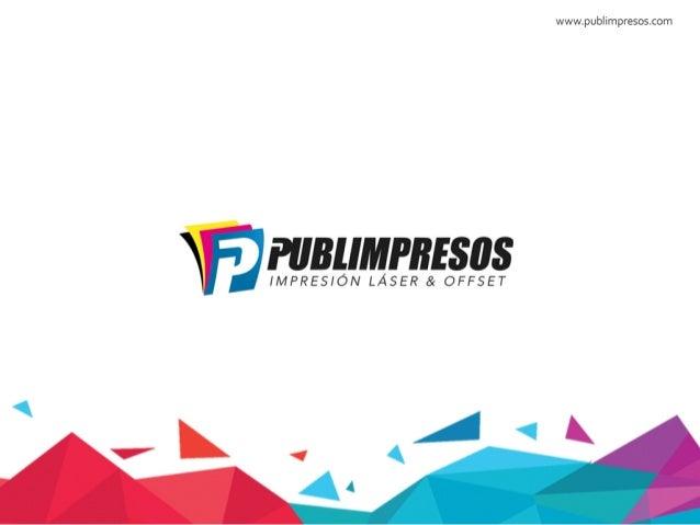 Catálogo Publimpresos