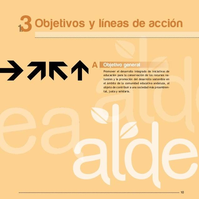 1 P r o g r a m a11 El Programa Aldea, Educación Ambiental para la Co- munidad Educativa, se estructura sobre los siguien-...