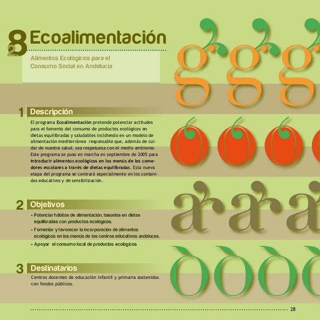2 A c t u a c i o n e s y R e c u r s o s29 Desarrollo del Programa Actividades obligatorias: Formación 'Agricultura Ecoló...