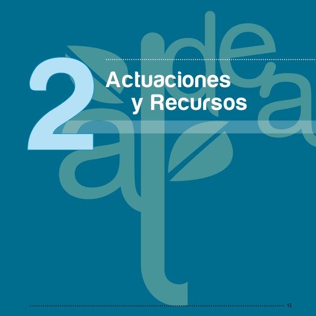 13 2 A c t u a c i o n s y R e c u r s o s 2.1 RED ANDALUZA DE ECOESCUELAS 2.2 KIOTOEDUCA 2.3 CRECE CON TU ÁRBOL 2.4 C...