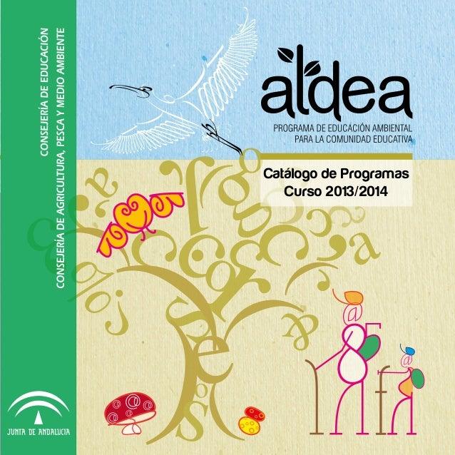 Catálogo de Programas Curso 2013/2014