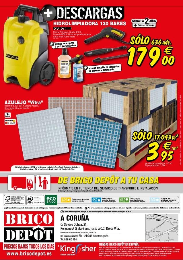 Catalogo Bricodepot Julio 2014