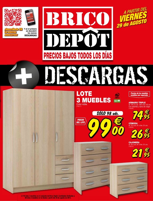Catalogo bricodepot septiembre 2014 for Catalogo brico depot