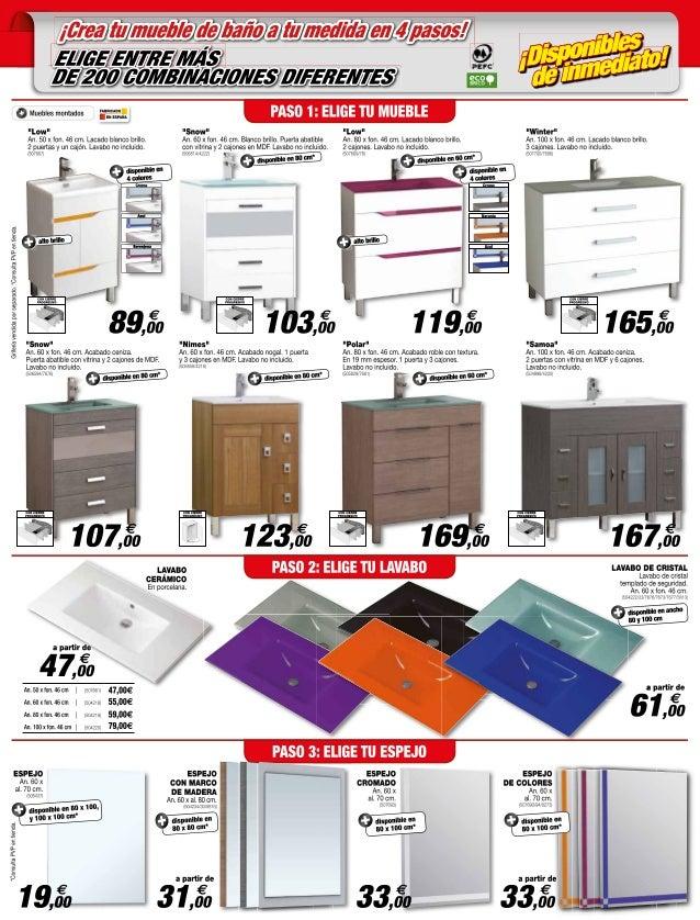 Catalogo bricodepot septiembre 2014 - Bricomart lavabos ...