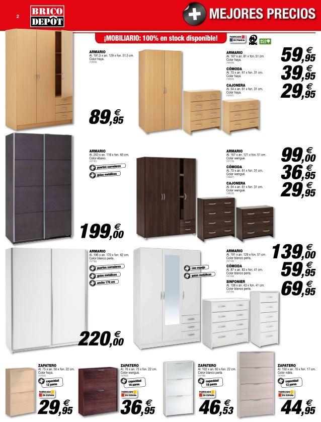 Catalogo bricodepot septiembre 2014 - Puertas de armarios de cocina en brico depot ...