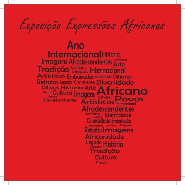 Exposição Expressões Africanas