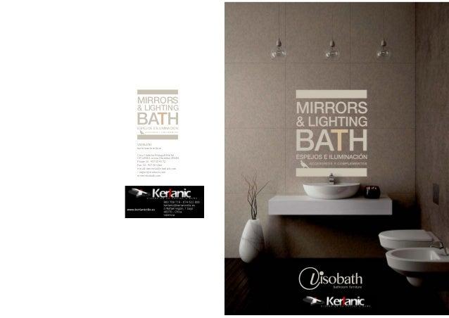 Catalogo espejos muebles de bano Visobath Kerlanic