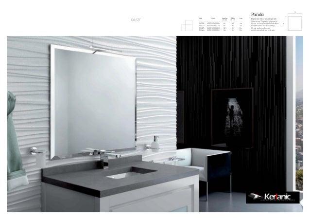 Catalogo espejos muebles de bano visobath kerlanic - Espejos retroiluminados bano ...