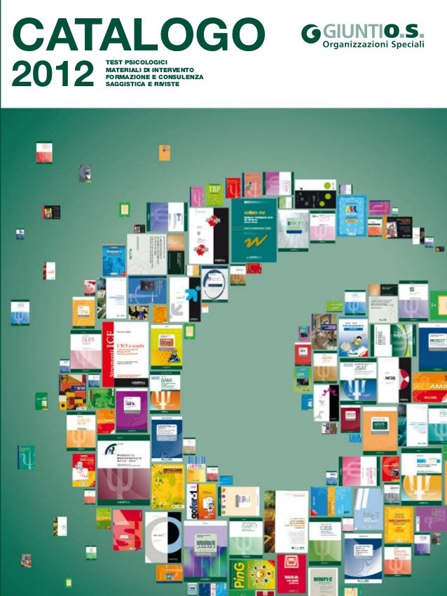 Aut. C1/3215/2008 Giunti O.S. Organizzazioni Speciali è membro di ETPG European Test Publisher Group ITC International Tes...