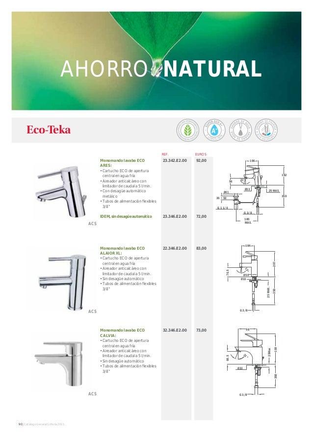 Catalogo griferia teka 2015 for Encimeras teka catalogo