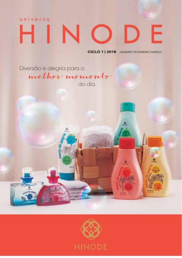 Catalogo Hinode 2018 - Oficial Produtos Atualizado - Revista - Janeiro Fevereiro e Março - Baixar Download