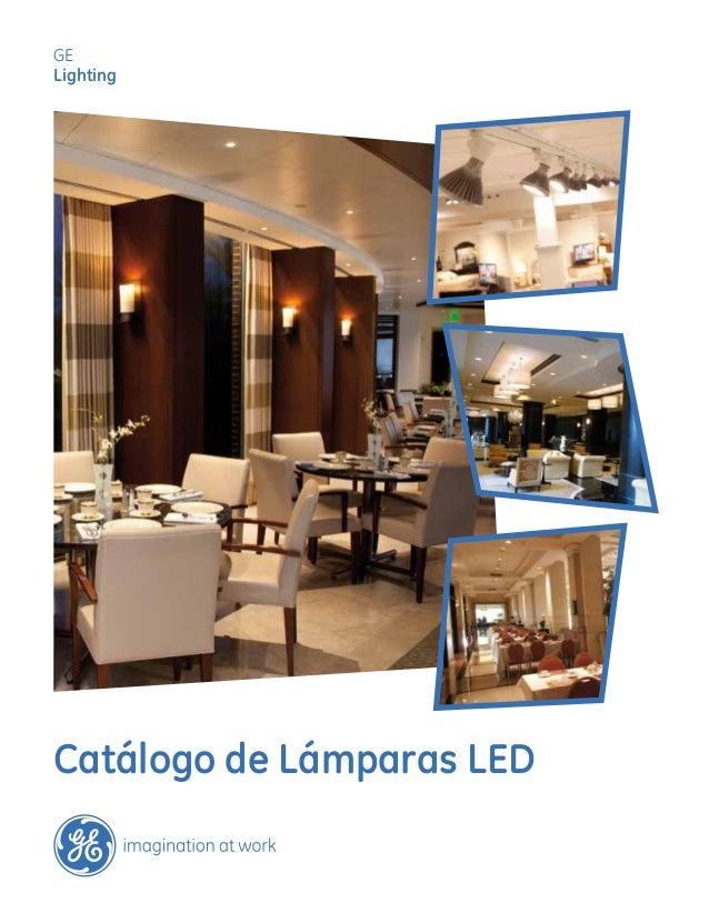 Catálogo de Lámparas LED GE Lighting