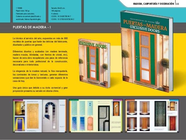 Catalogo libros de mobiliario herreria puertas decoracion etc - Libros de decoracion de interiores gratis ...
