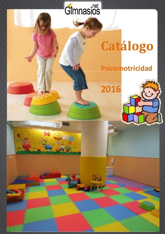 Catálogo Psicomotricidad 2016