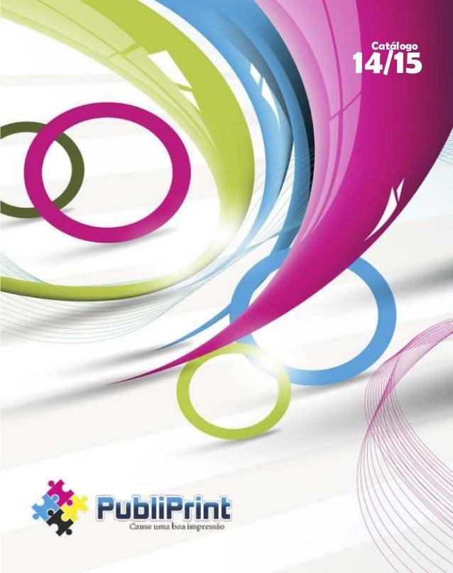 Catalogo de Brindes - PubliPrint -2014