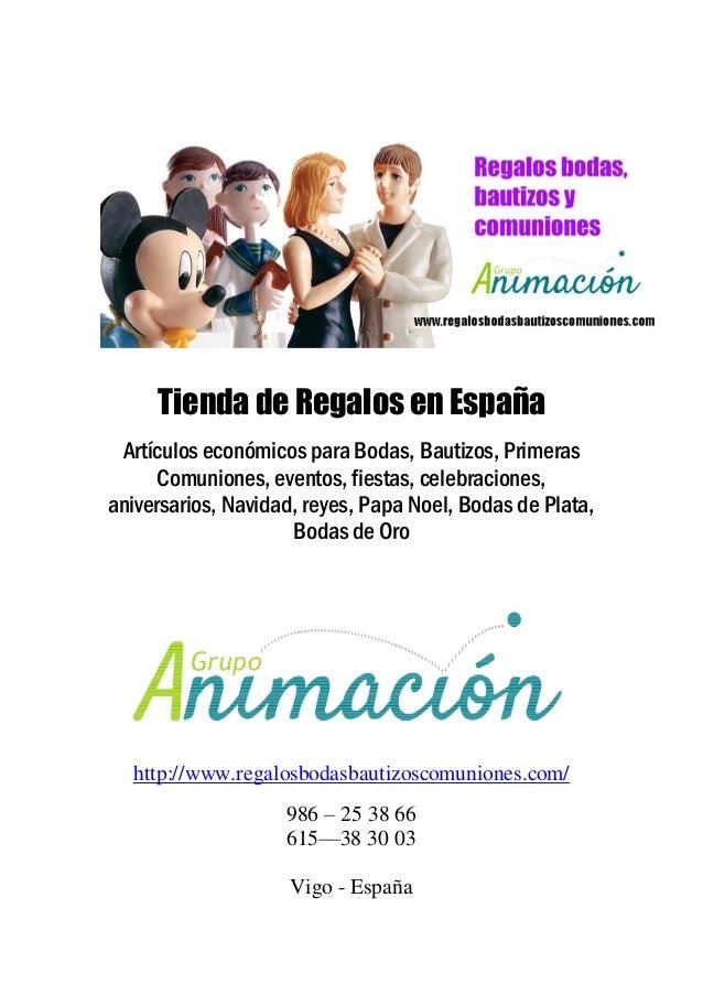Tienda de Regalos en España Artículos económicos para Bodas, Bautizos, Primeras Comuniones, eventos, fiestas, celebracione...