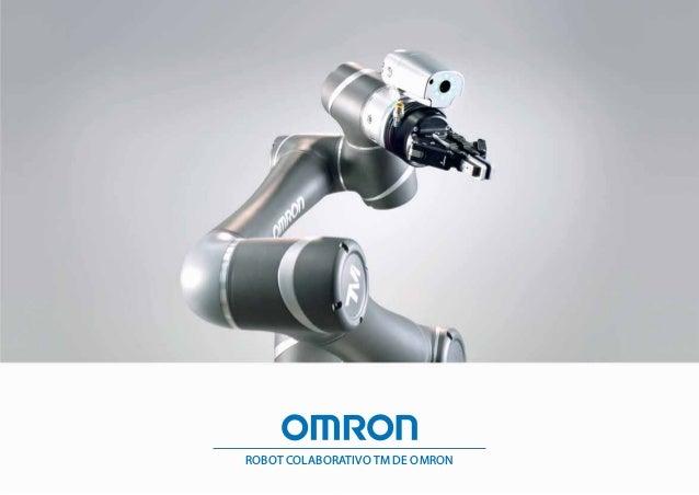 ROBOT COLABORATIVO TM DE OMRON