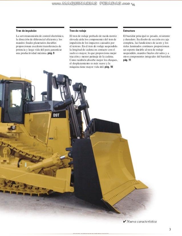 Catalogo tractor-cadenas-d9t-caterpillar