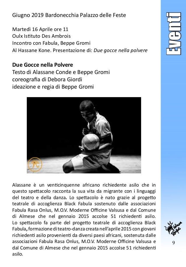 9 Eventi Giugno 2019 Bardonecchia Palazzo delle Feste Martedì 16 Aprile ore 11 Oulx Istituto Des Ambrois Incontro con Fabu...