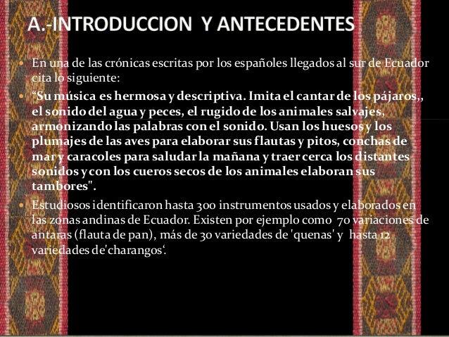  Música andina es un término que se aplica a una gama muy vasta de géneros musicales originados en los Andes sudamericano...