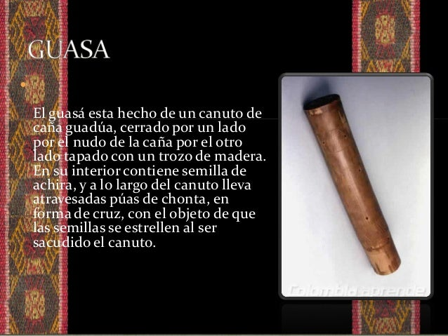  Proviene de la region andina de América esta construido por una pulsera de tela de la cual se encuentran sujetas pesuñas...