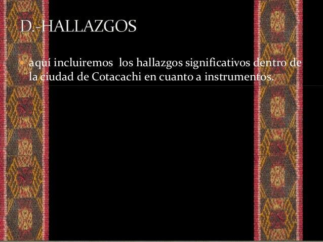  En tiempos pasados los habitantes andinos mostraron su gran capacidad de creadores de instrumentos y un evidente talento...