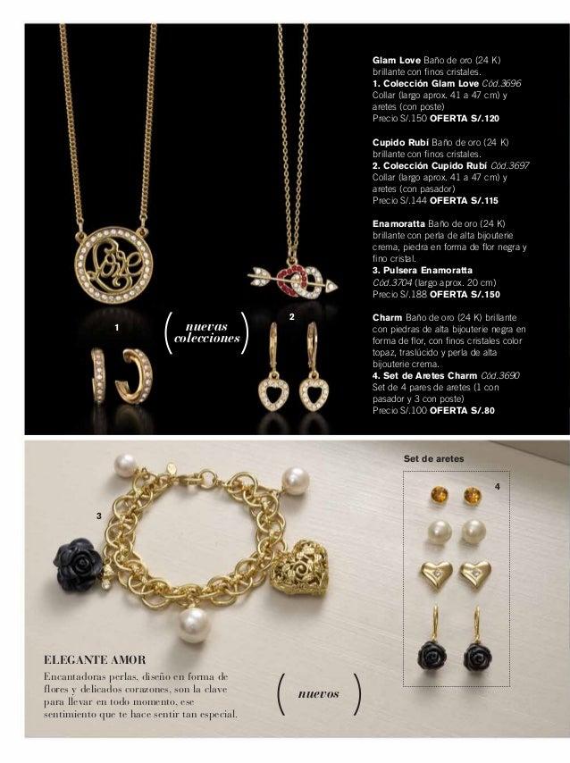 84eac9528630 ... 30. Set de aretes nuevas colecciones nuevos Glam Love Baño de oro ...