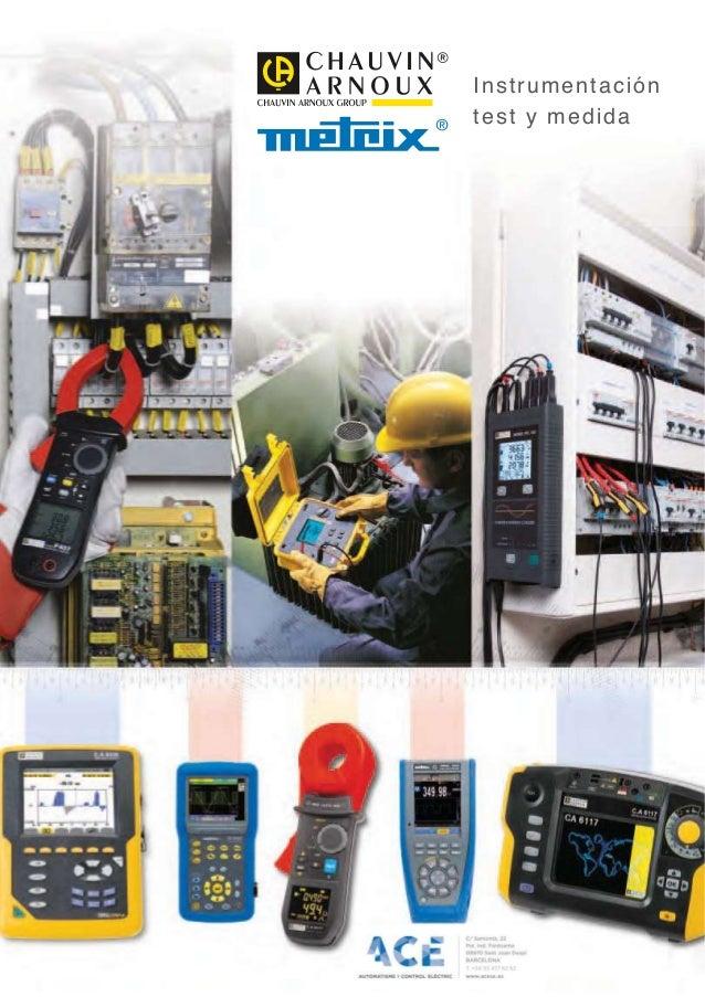 Instrumentación test y medida