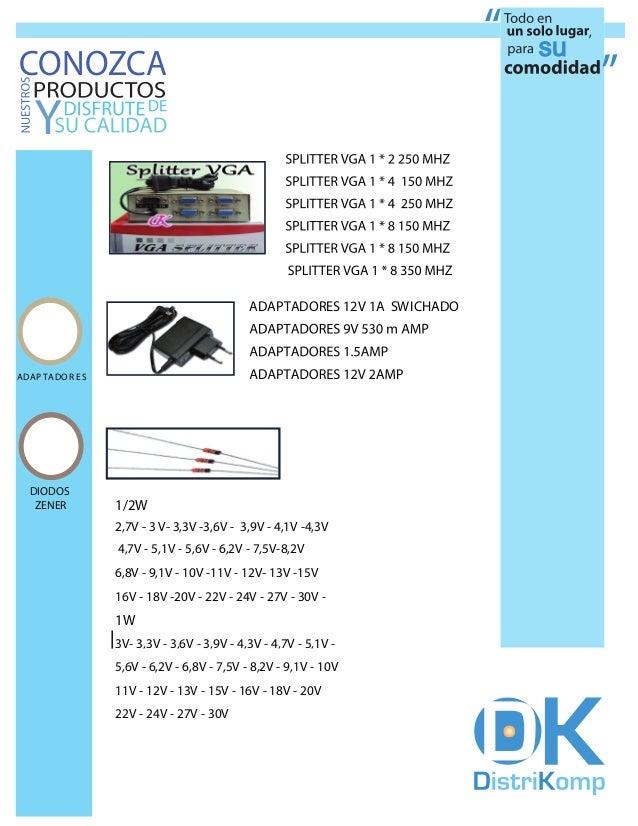 CONOZCA                                                        SPLITTER VGA 1 * 8 150 MHZ                                 ...