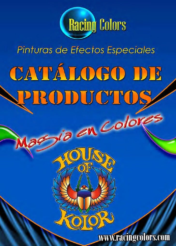 CATALOGO HOUSE OF COLORS
