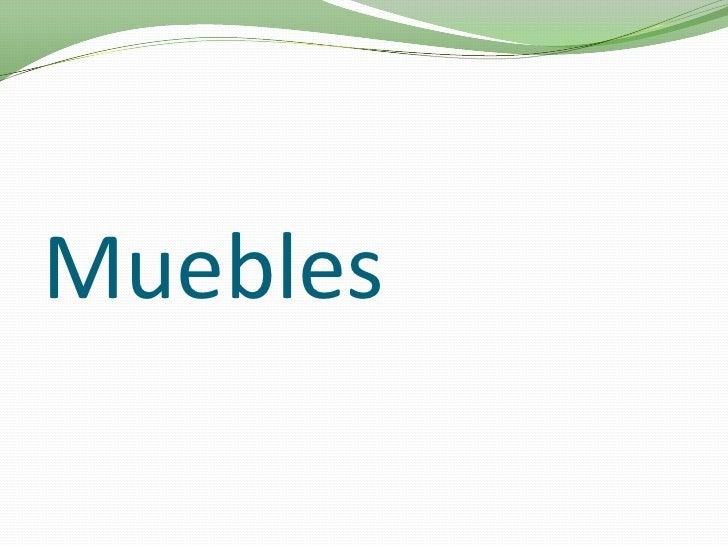 Muebles<br />