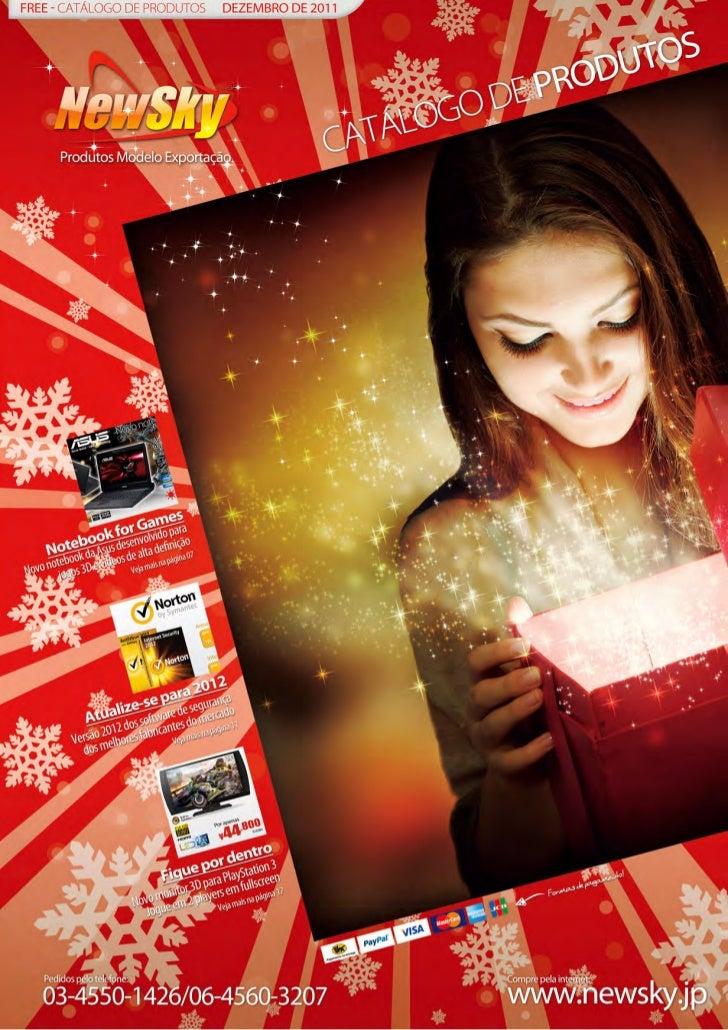 Catálogo de Produtos - Dezembro