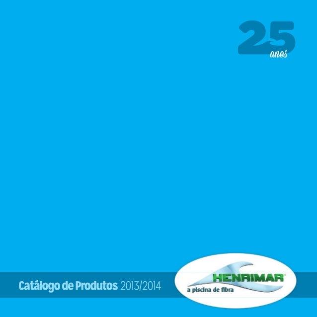 Henrimar Piscina de Fibra - Catalogo 2013