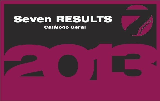 Seven RESULTS    Catálogo Geral21 03