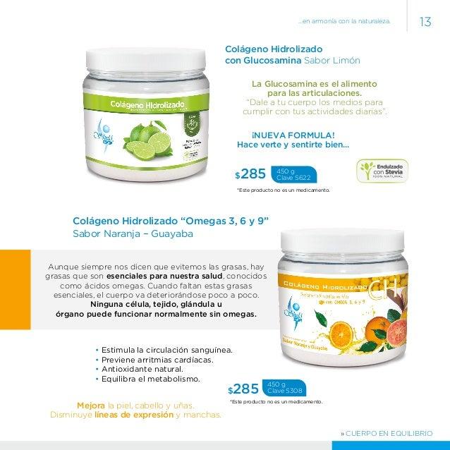 Catalogo 2014 2015 shelo nabel - Alimentos con colageno hidrolizado ...
