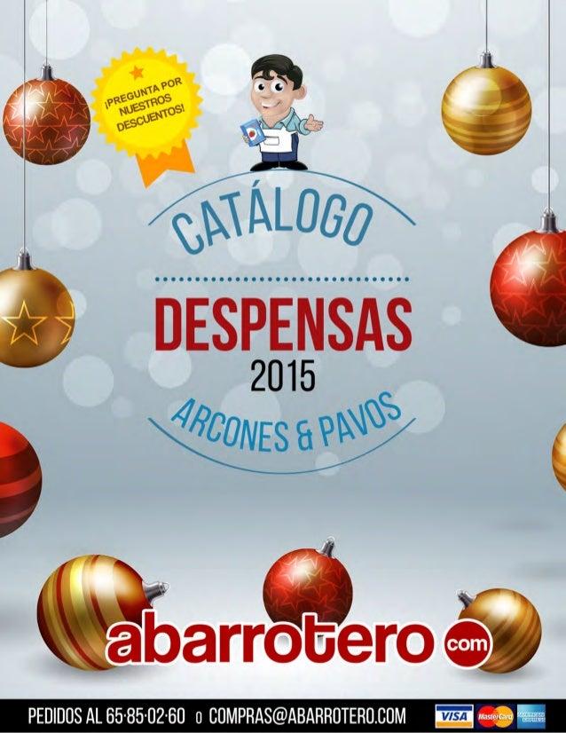 Catálogo Abarrotero Punto Com 2015