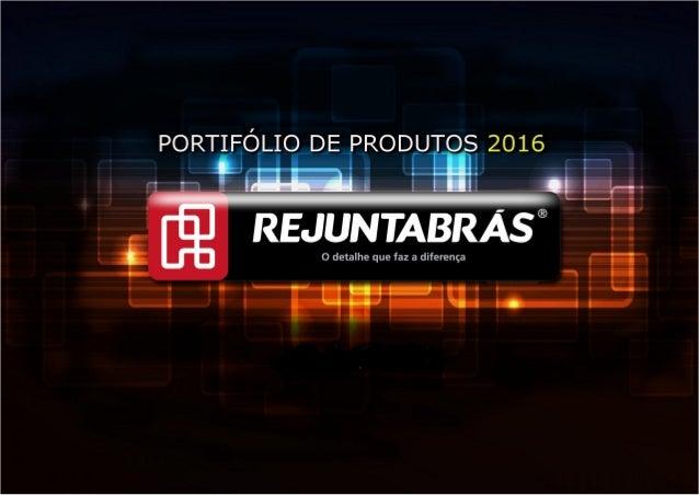 Rejuntabras - Catalogo de produtos 2016